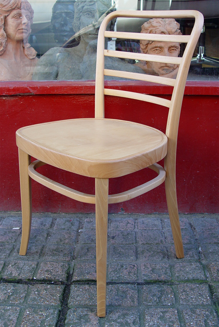 Set of Eight Beautiful Vienna Bentwood Chairs by Conran s
